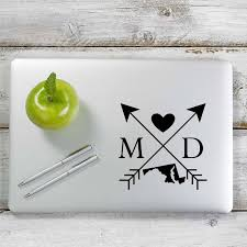 Maryland Love Cross Arrow State Md Decal Sticker For Car Window Lapto Yoonek Graphics