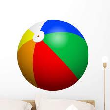 Amazon Com Wallmonkeys Fot 84118989 36 Wm335952 Beach Ball Peel And Stick Wall Decals H X 36 In W 36 36 W Large Home Kitchen