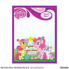 My Little Pony Cumpleanos Invitaciones Buscar Con Google Crear