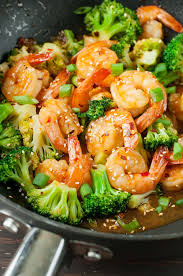 Szechuan Shrimp and Broccoli - Peas And ...