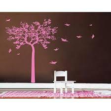 Stickersforlife Stickersforlife Ik331 Wall Decal Sticker Decor Olive Tree Swallow Bird Kids Bedroom