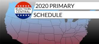 2020 Primary & Caucus Schedule