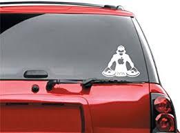 Amazon Com Dj Car Window Vinyl Sticker Automotive