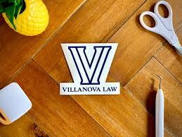 Villanova University Die Cut Vinyl Decal Car Bumper Sticker Etsy
