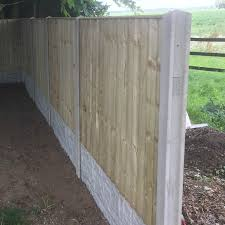 Concrete Fencing Slotted Posts Reinforced Free Delivery Available Bs12839