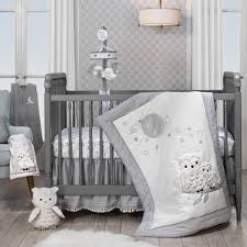 luna 4 piece crib bedding set baby