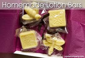 homemade lotion bars the jojoba pany