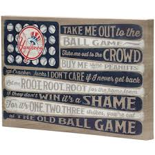Official New York Yankees Wall Decorations Yankees Signs Posters Tavern Signs Mlbshop Com