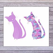 Cat Cup Decal Cat Decal For Tumbler Cat Car Decal Cat Etsy