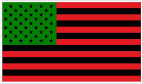 Amazon Com Cnw Studio African American Flag Red Black And Gree Decal Vinyl Bumper Sticker 5 Sports Outdoors