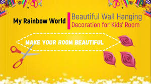 Hanging Decorations For Kids Room Easy Craft For Kids Youtube