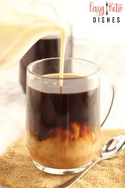 homemade keto vanilla coffee creamer