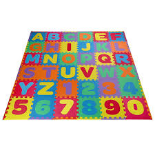 Kids Foam Floor Puzzle Play Mat Gym Toy 36 Pcs Abc Numbers Baby Toddler Playmat For Sale Online
