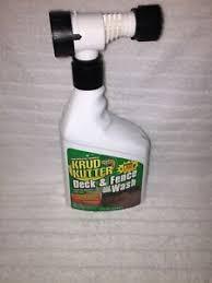 Rust Oleum 303279 Krud Kutter Deck Fence Wash Hose End 32oz 20066328023 Ebay
