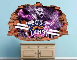 Phoenix Suns Basketball Nba Custom Smashed 3d Wall