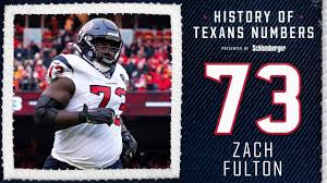 Check out Zach Fulton and all the players who have worn #73 for the Houston  Texans.