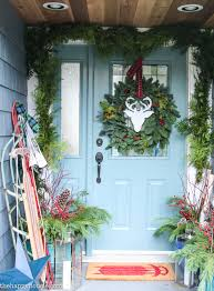 clic christmas front porch decor