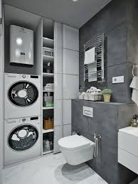 laundry room bathroom combo layout