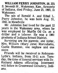William Perry Johnston obit - Newspapers.com