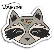 Racoon Raccoon Fun Vinyl Stickers Sticker Laptop Luggage Gift Car Assessoires Window Decals Car Wrap Diy Wish