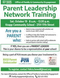 Join Parent Leadership Network | Racine Unified School District