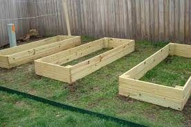 raised beds from pressure treated wood