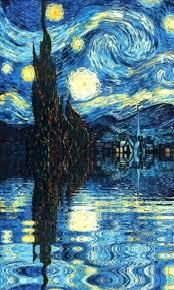 van gogh starry night wallpaper free