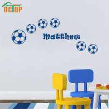 Sports Wall Stickers Football Customized Name Wall Art Boys Bedroom Decals For Kids Rooms Kids Bedroom Bajby Com Is The Leading Kids Clothes Toddlers Clothes And Baby Clothes Store