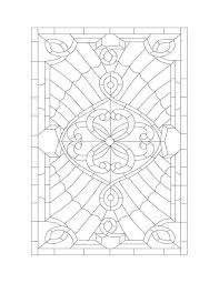 free stained glass window template