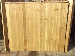 Feather Edge Fence Panel Green Farmac Timber Supplies Building Supplies Builders Merchant And Diy Shop In Pudsey
