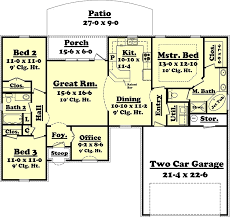 house plan 56956 french country style