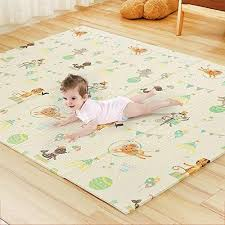 5ft X 6ft Baby Play Mat With Fence Non Toxic Foam Puzzle Floor Mat For Kids