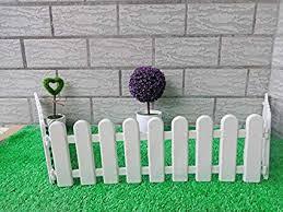 com 10pcs lot white fence