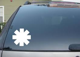 Red Hot Chili Peppers 3 Vinyl Decal Sti Buy Online In Aruba At Desertcart