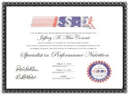ncca nutrition certification