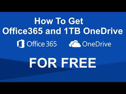 Image result for How to get FREE OFFICE 365 and ONE DRIVE