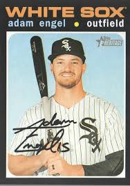 2020 Topps Heritage Baseball #46 Adam Engel | eBay
