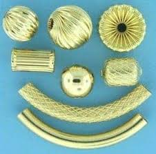 gold filled beads for jewelry making