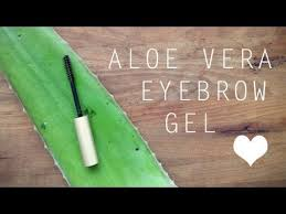 diy aloe vera eyebrow gel you