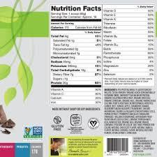 nutritional shake chocolate