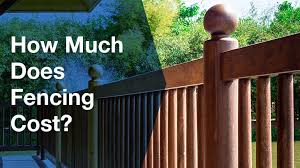 cost of fence installation fence cost