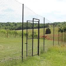 Access Gate For 7 5 Deer Fence Direct Burial Installation Deerfence