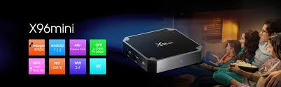 X96 Mini Android Tv Box Amlogic S905w 2gb Ram 16gb Rom Quad Core ...