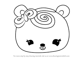 Learn How to Draw Wendy Wild Berry from Num Noms (Num Noms) Step by Step :  Drawing Tutorials