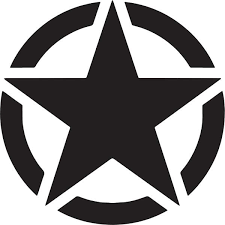 Jeep Star Decal Sticker Jeep Star Decal