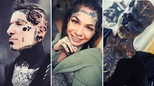Tatuaze Na Twarzy Piekne Czy Szokujace Zobacz Zdjecia Kurier