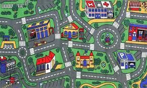 rug play mat carpet for cars giant kids