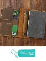 notebook field notes leather portfolio