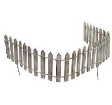 Gracie Oaks Brandusa Miniature Wood Picket Fence Fairy Garden Reviews Wayfair