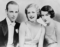 Amazon.com: 1930 photo Fred Astaire, Marilyn Miller and Adele Astaire,  half-length public e2: Photographs